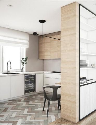 Modernus virtuvės interjeras