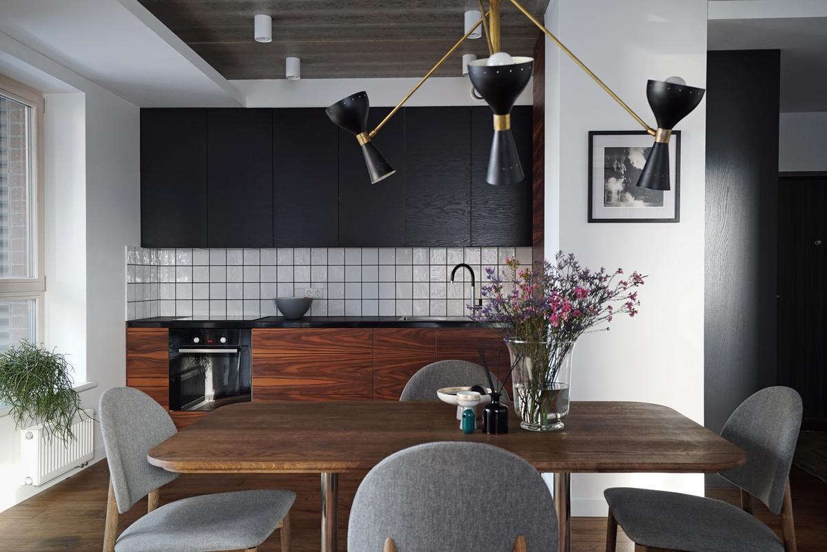 Subtili eklektika interjero dizainerės namuose